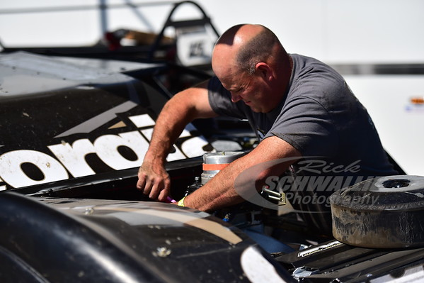 Steve Francis crew chief - Anthony Burroughs