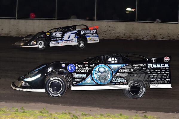 0 Scott Bloomquist and 6 Jonathan Davenport
