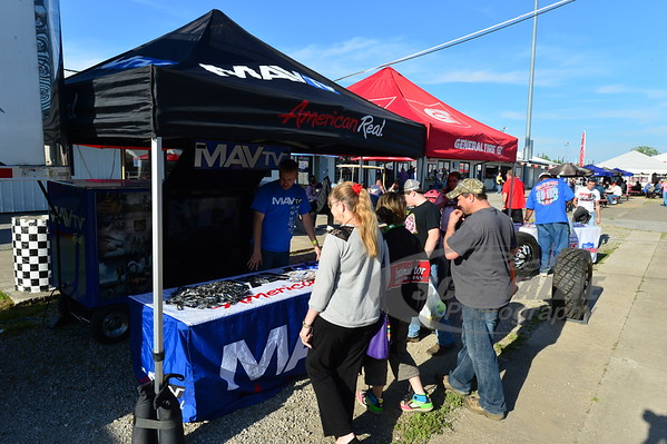 MavTV and General Tire display areas