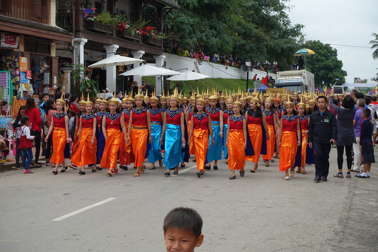 Luang Prabang 20th Anniversary UNESCO World Heritage Parade