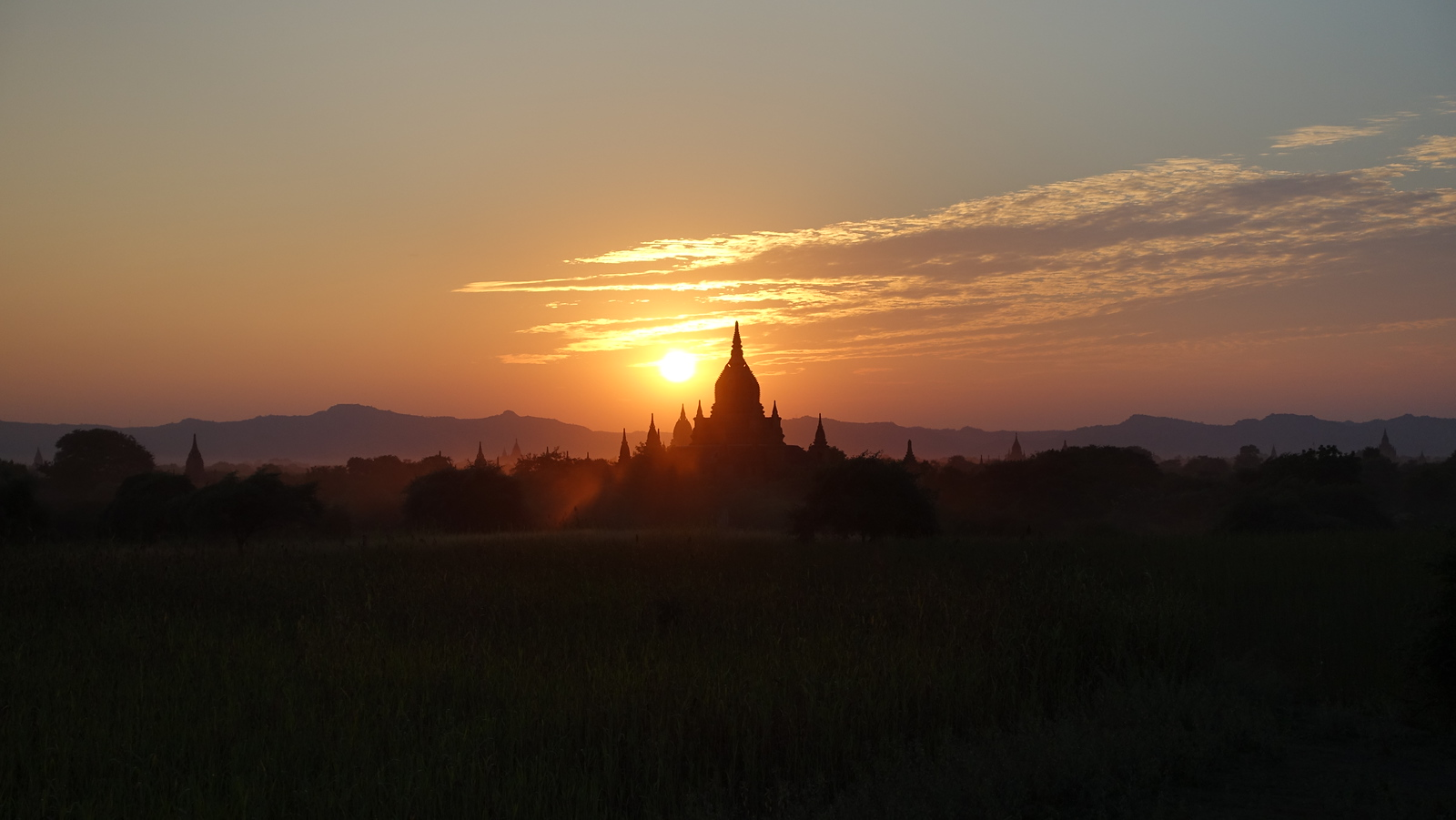 Bagan – Our Second Sunset