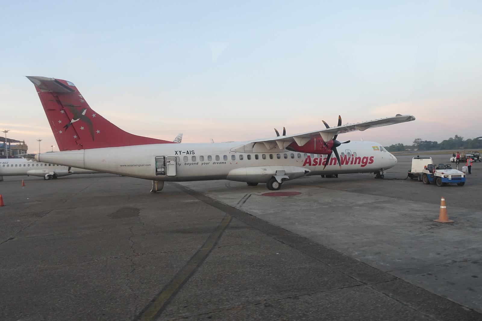 Our First Myanmar Domestic Flight – Yangon to Bagan