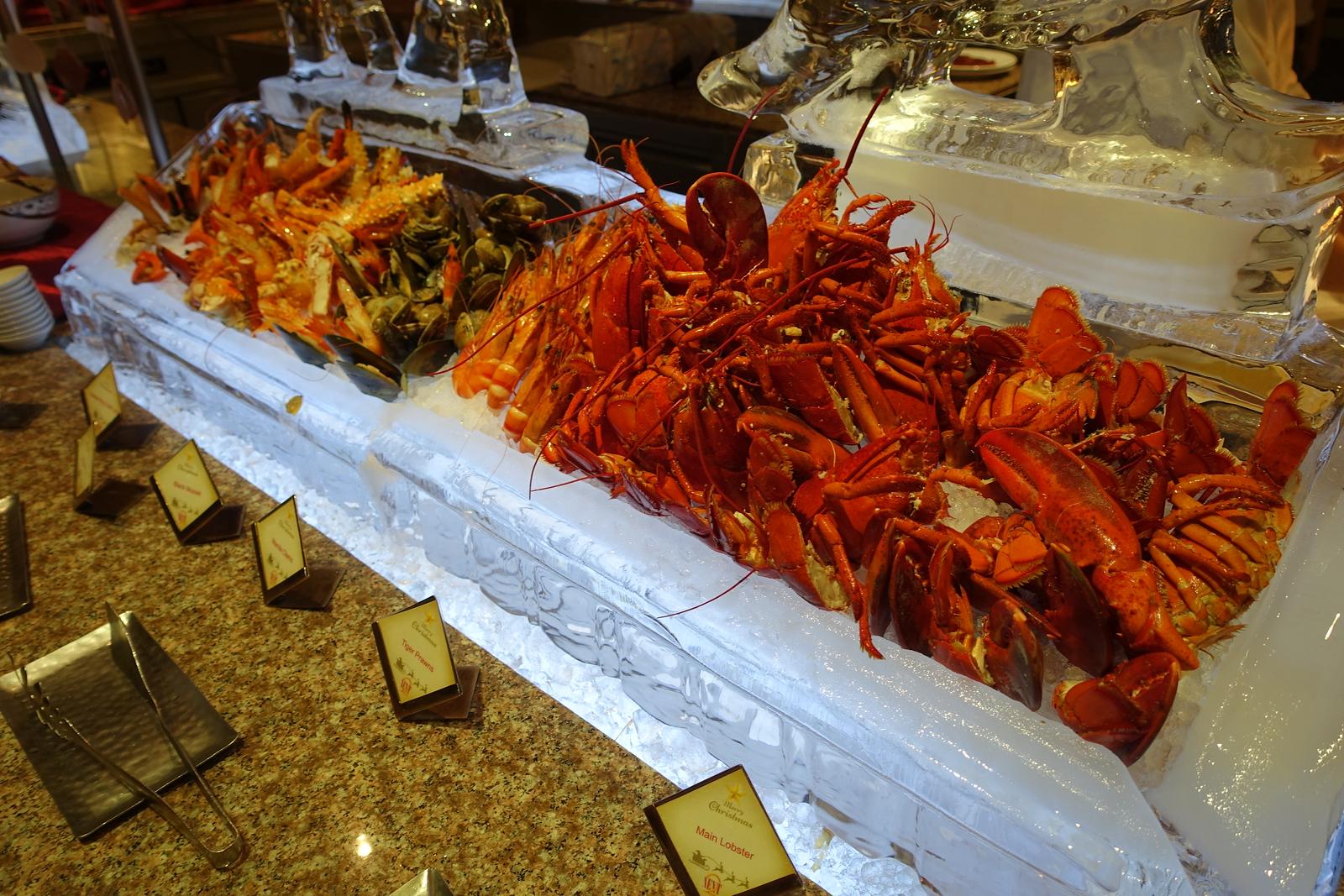 Bangkok – Shangri-La Christmas Eve Dinner