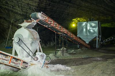 Salt mine.