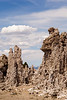 Crazy mineral formations decorate the landscape alongside Mono Lake.