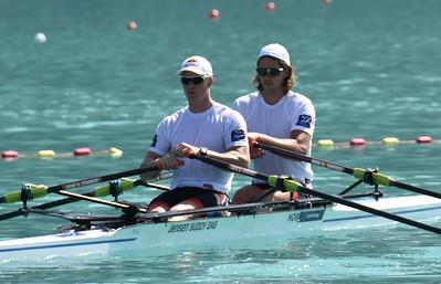 Race 80 Kjetil Borch og Nils Jakob Hoff på vei til start