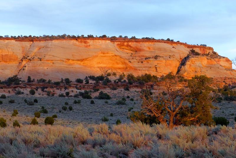 Sunset in the Vermillion Hills
