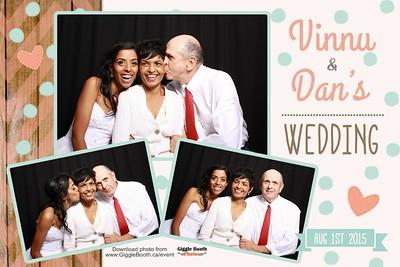 Vinnu and Dan Wedding