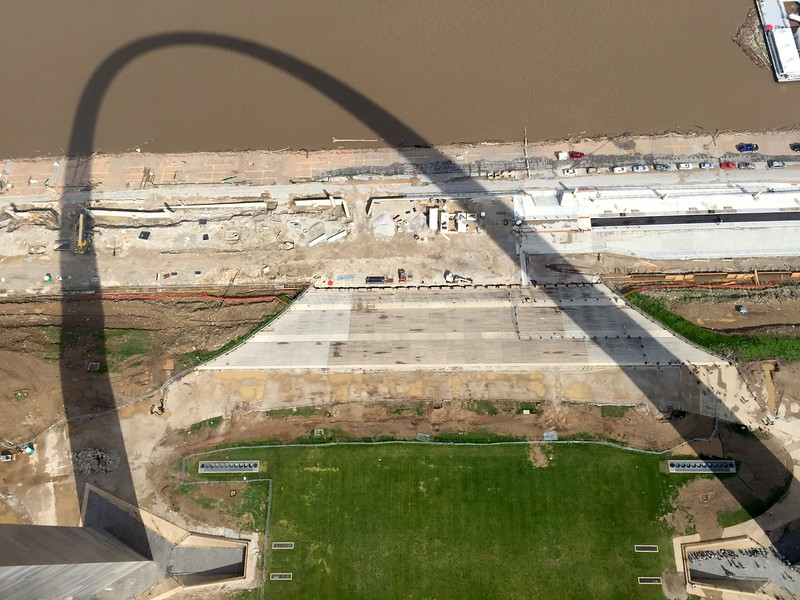<b>The Gateway Arch</b> <br>St. Louis, MO <br>May 16, 2015