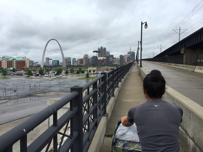 <b>Eads Bridge</b> <br>East St. Louis, IL <br>May 16, 2015
