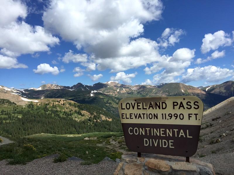 <b>Loveland Pass</b> <br>Dillon, CO <br>July 16, 2015