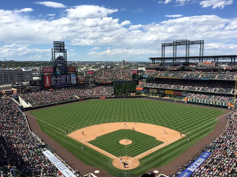 <b>Coors Field</b> <br>Denver, CO <br>July 11, 2015
