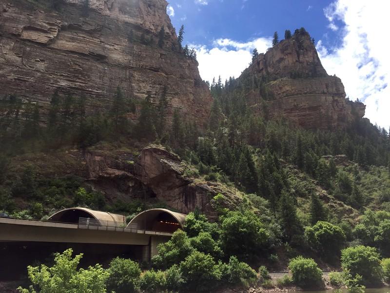<b>Glenwood Canyon</b> <br>Garfield County, CO <br>July 21, 2015