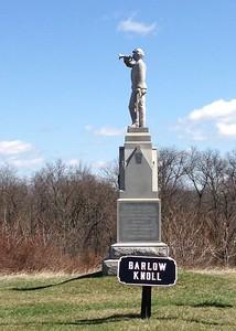 Monument on Barlow Knoll, Gettysburg - David and Phyllis Oxman
