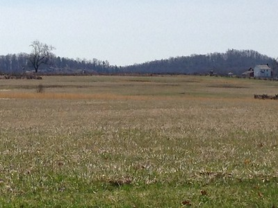 Field crossed by Pickett's Confederate soldiers to Cemetary Ridge 2 - David and Phyllis Oxman