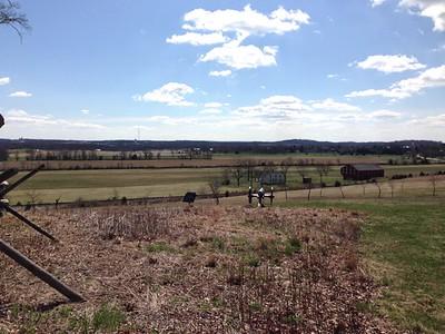 Gettysburg Battlefield 0415 - David and Phyllis Oxman