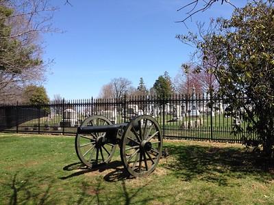 Cemetery Hill, Gettysburg - David and Phyllis Oxman