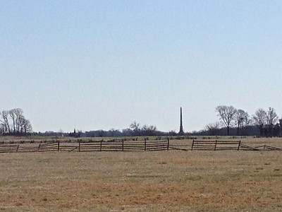 Field crossed by Pickett's Confederate soldiers to Cemetary Ridge - David and Phyllis Oxman