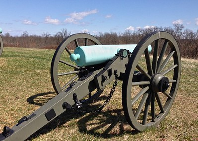 Cannon at Gettysburg - David and Phyllis Oxman