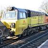 70808 1112/4v12 Ratcliffe-Gloucester passes Water Orton.
