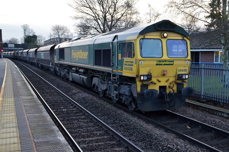 66606 0908/6m66 Immingham-Rugeley passing Water Orton.