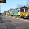 66620 1115/4e42 Rugeley-Hunslett passes Water Orton.