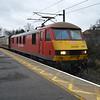 90029 0915/1z61 Kings Cross-Tweedbank passes Thirsk  30.12.15