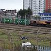 66096 1040/4L45 Wakefield-Felixstowe seen leaving Doncaster   30.12.15.