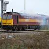 Tug 60071 'Ribblehead Viaduct' shunting Doncaster Decoy Yard   30/12/15