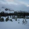 All fresh snow