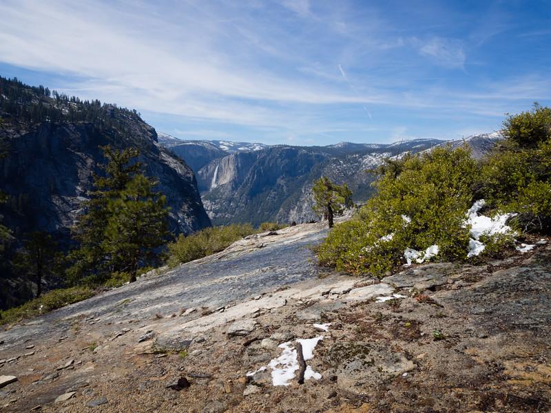 Across to Yosemite Falls