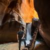 Me at Lower Kanarra Creek Falls