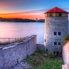 Sunrise over at Fort Henry in Kingston, September 26.