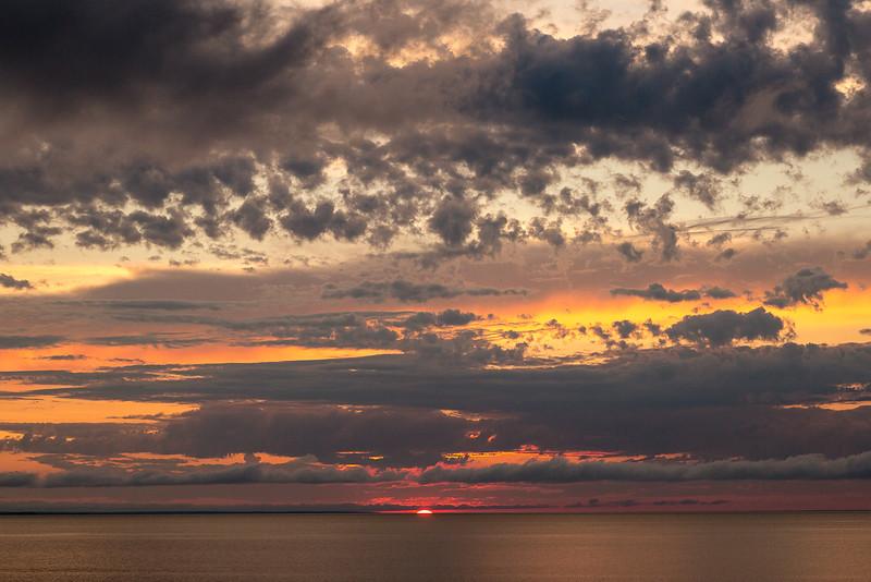 SUNSET, GULF SHORE