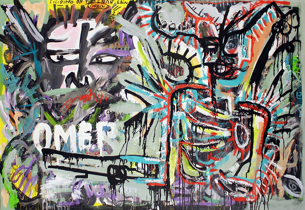 194 - Taste of the sewer lord - Omerta - 150x100cm