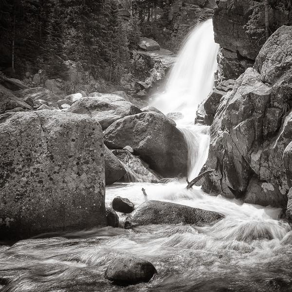 ALBERTA FALLS, ROCKY MOUNTAIN PARK