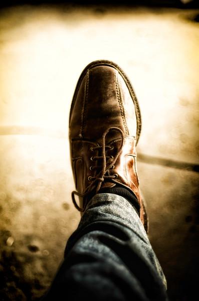 Shoe of Doom....  DOOOOOOoooooommmm