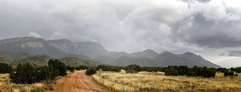 September Rain over the Sandias