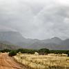 September Rain over the Sandias