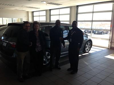 20150309 Buying the Honda Odessy Touring