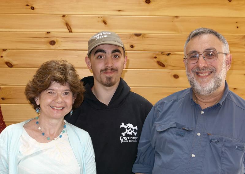 Sheila, Aaron and Bob