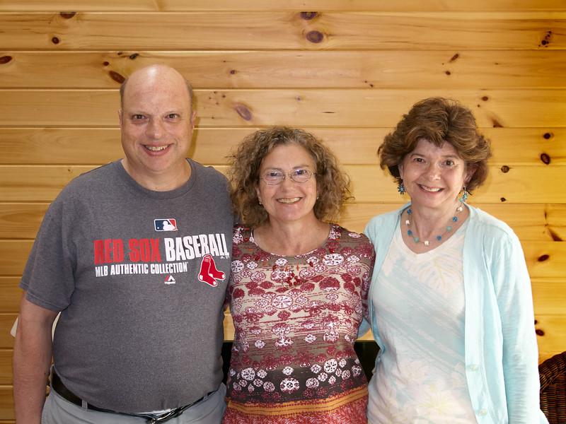 David, Gail and Sheila