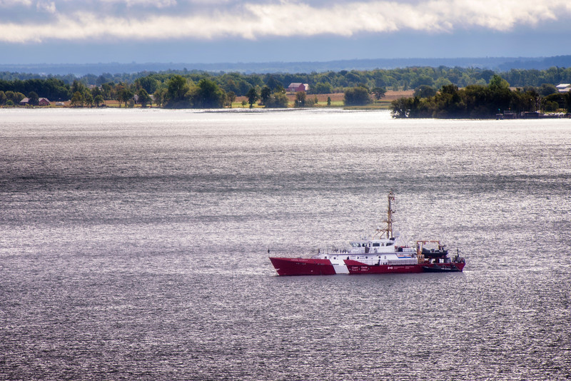 CCGS Corporal Teather C.V. - Mid-shore patrol vessel. Shot at Kingston, 13 Sep, 2015.
