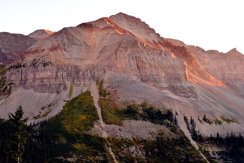 San Miguel Peak Glow
