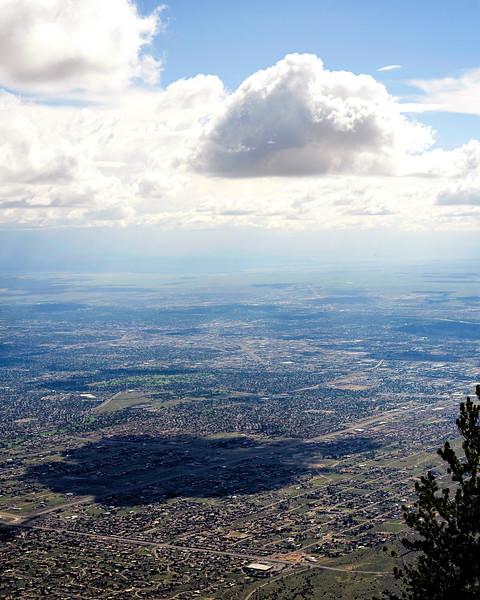 Cloud over Albuquerque