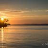 Sunset, Eggemoggin Reach, Maine