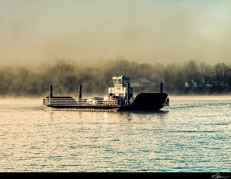 Dans la brume du matin à Gatineau-12