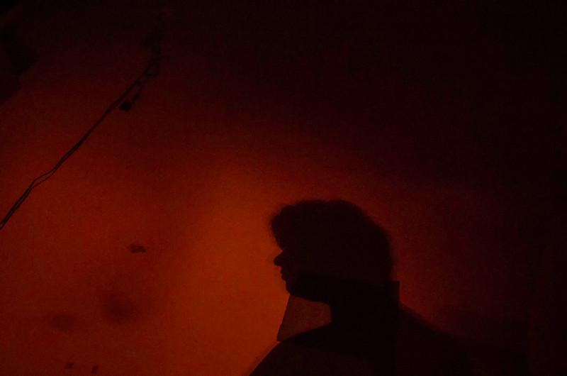 Fireside Silhouette