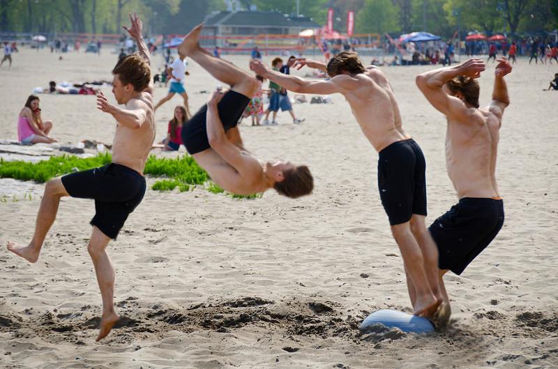 Kew Beach, Toronto. 18 May, 2015.