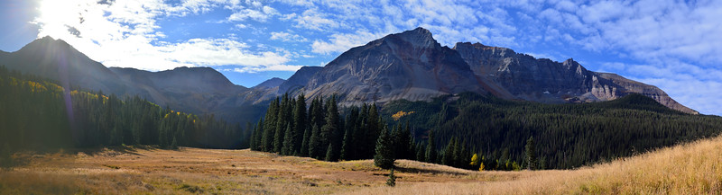 Trout Lake Camp Panorama